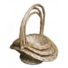 Набор плетеных корзин из 3-х штук - AA973103